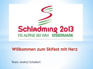 Team: Andrej Schubert