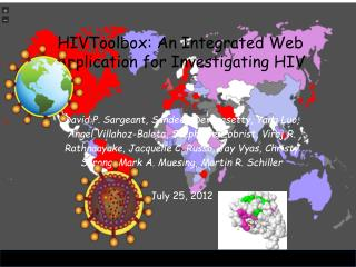 HIVToolbox: An Integrated Web Application for Investigating HIV