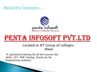 Penta  Infosoft Pvt.Ltd