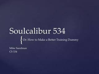 Soulcalibur  534