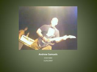 Andrew Samuels
