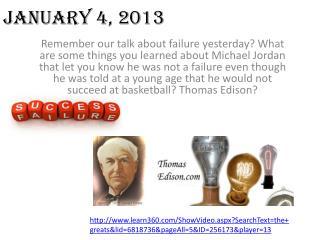 January 4, 2013