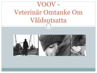 VOOV -  Veterinär Omtanke Om Våldsutsatta