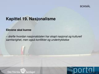 Kapittel  19.  Nasjonalisme