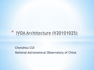 IVOA  Architecture (V20101025)