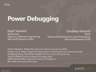Power Debugging