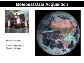 Meteosat  Data Acquisition