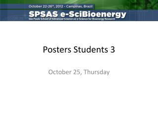 Posters Students  3