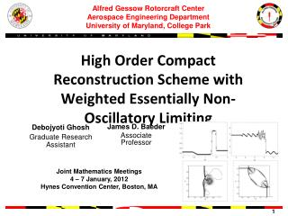 High Order Compact Reconstruction Scheme with Weighted Essentially Non-Oscillatory Limiting