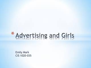 Advertising and Girls