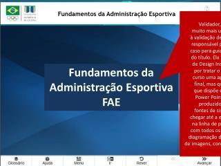 Fundamentos da Administração Esportiva