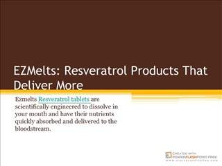 Resveratrol Products that Deliver More