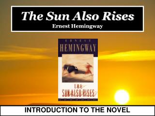 an introduction to the life and history of ernest miller hemingway Ernest hemingway -an introduction to his life fast facts biography body of work legacy interaction w/ other authors inspiration at the age of 27 he gave himself the name papa his parents were often horrified by their son's work because of their super religious views •by 1957, hemingway's .