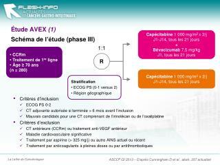 Étude  AVEX  (1)