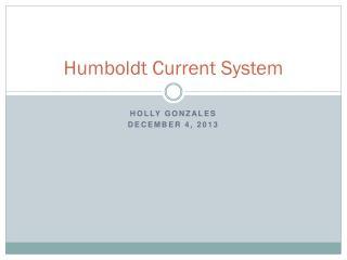 Humboldt Current System