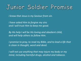 I know that Jesus is my Saviour from  sin. I  have asked Him to forgive my  sins