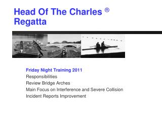 Head Of The Charles  ® Regatta