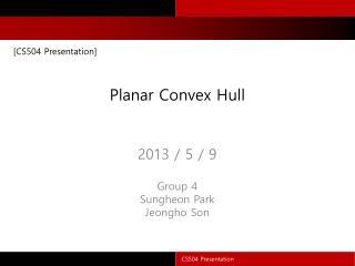 Planar Convex Hull