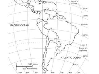 Chapter 20 & 21 Latin America