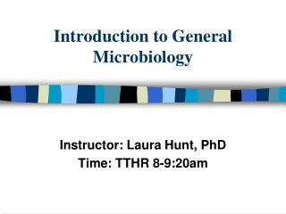 Introduction to General Microbiology