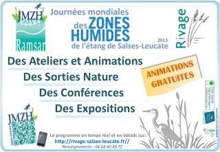 Des Ateliers et Animations