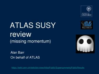 ATLAS SUSY  review (missing momentum)