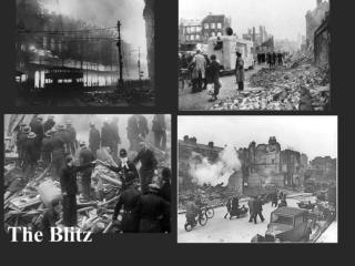 What was the Blitz?