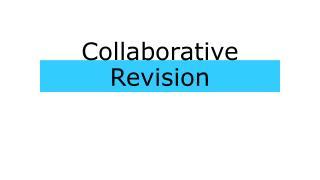 Collaborative Revision