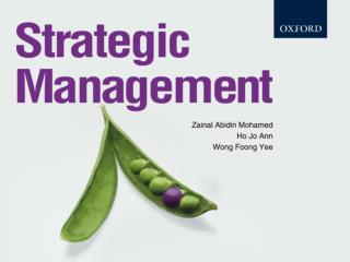 Chapter 7 Generating Alternative Strategies through Use of Strategic management Models