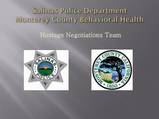 Salinas Police Department Monterey County Behavioral Health