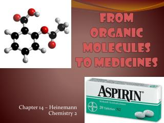 From Organic Molecules to Medicines