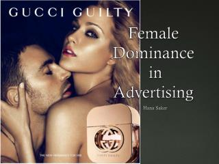 Female  Dominance  in  Advertising
