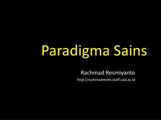 Paradigma Sains