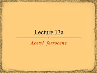 Lecture 13a