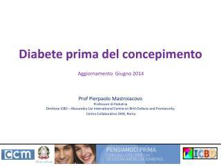 Diabete prima del concepimento