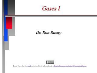 Gases I