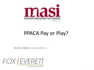 PPACA Pay or Play?