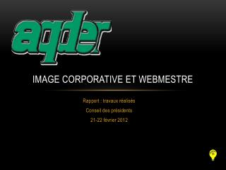 Image corporative et webmestre