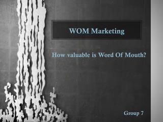 WOM Marketing