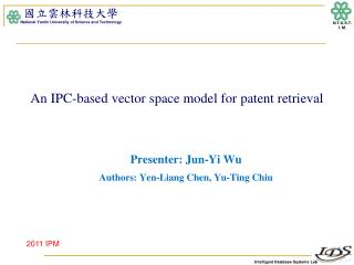 An IPC-based vector space model for patent retrieval