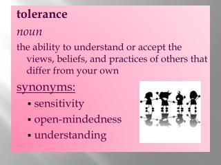 tolerance noun