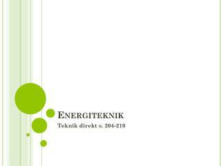 Energiteknik
