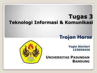 Tugas 3  Teknologi Informasi & Komunikasi