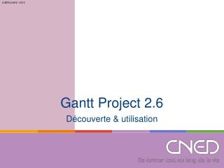 Gantt Project 2.6
