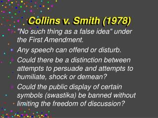 Collins v. Smith 1978