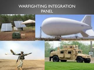 Warfighting Integration Panel