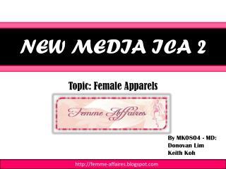 NEW MEDIA ICA 2