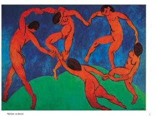 Matisse: La Danse