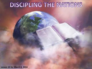 DISCIPLING THE NATIONS