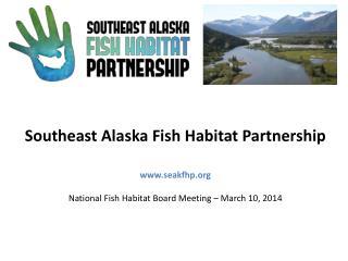 Introductions Neil  Stichert –  USFWS   Juneau Field Office,  SEAKFHP Committee Co-Chair